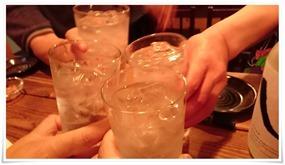 まずは乾杯@焼き鳥 亮平(りょうへい)