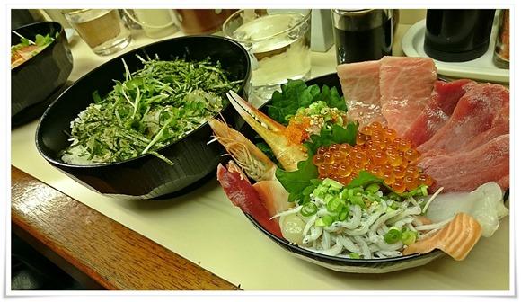 海鮮まぐろ丼@こずえ食堂