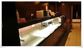 バイキング形式朝食@スーパーホテル大分・中津駅前