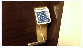 暗証番号キー@スーパーホテル大分・中津駅前