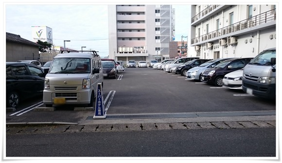 駐車場完備@スーパーホテル大分・中津駅前
