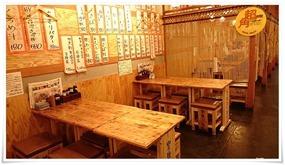 テーブル席@豊後酒場(ぶんごさかば)