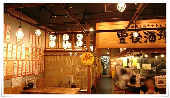 店内の様子@豊後酒場(ぶんごさかば)