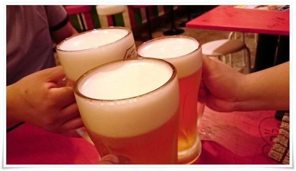 生ビールで乾杯@奇跡のイタリアン 府内店