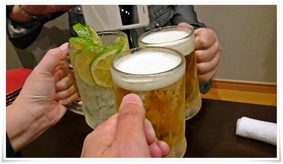 生ビールで乾杯@食楽酒家 こげん