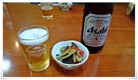 瓶ビールは二銘柄@餃子の味味(みみ)