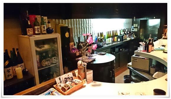 冷蔵庫に日本酒が@SAKE 焼酎 BAR Salon