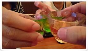 梅酒で乾杯@旅館やまの湯