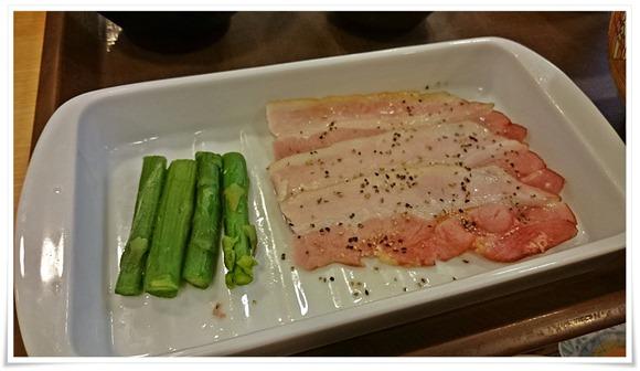 ベーコン&アスパラ@すき家の朝食