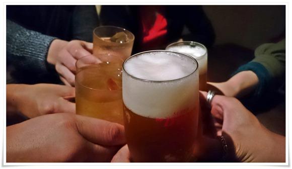 ビールで乾杯@BARたいよう