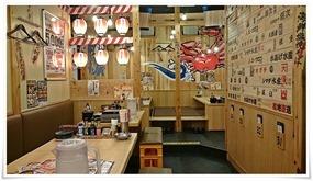 店内の様子2@目利きの銀次 小倉新幹線口駅前店