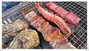 豚バラ串@海鮮市場 浜焼き 浜太郎