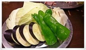 野菜盛り@炭火焼肉 八輪(はちりん)
