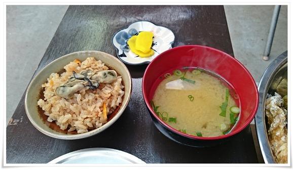 カキ飯セット@牡蠣の平尾