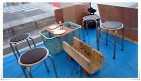 テーブル@かき小屋&屋台村