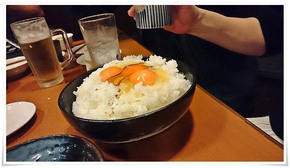 卵三個投入@隠れ家ダイニングTOMMY