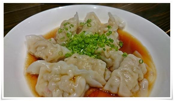 一口水餃子@担々麺と水餃子の店 担々たぬき
