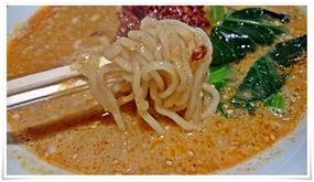 麺アップ@担々麺と水餃子の店 担々たぬき