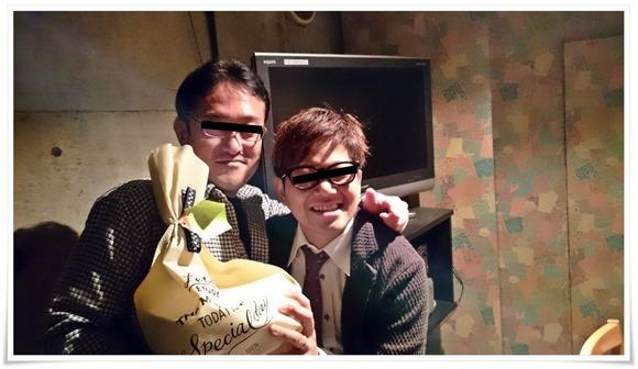 阿部さんと記念撮影@遥(はるか)