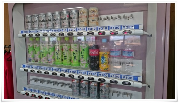 自動販売機@若松妙見かき小屋