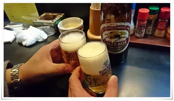 瓶ビールで乾杯@かんさい