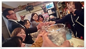みんなで乾杯@第8回中央区はしご酒大会