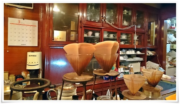 店内の雰囲気@喫茶かわい