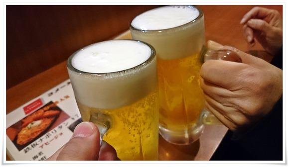 生ビールで乾杯@ラ・コメータ(小倉十三区)