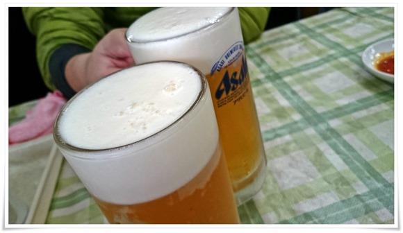 生ビールで乾杯@王府(わんふ)