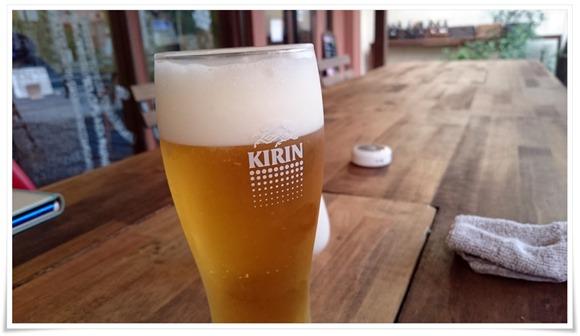 三杯目の生ビール@ココカラキッチン