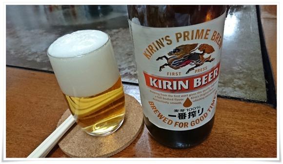 瓶ビールで乾杯@ひろ助