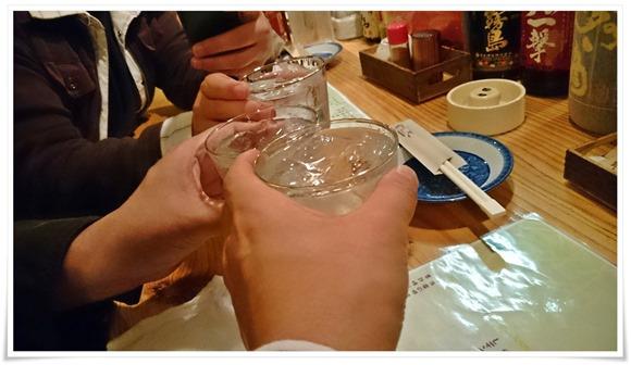 赤霧島で乾杯@からあげ韋駄天