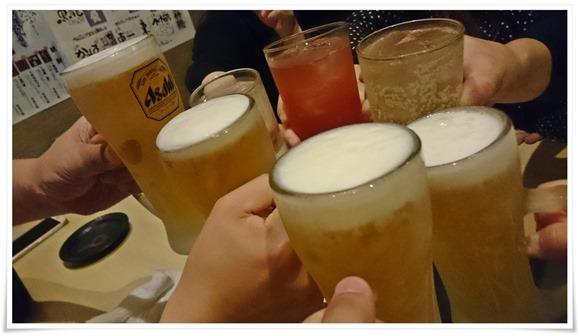 キンキンに冷えた生ビール@まぐろやしのちゃん