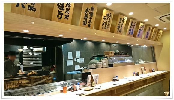 厨房で大量の焼鳥が@竹乃屋 小倉エキナカ店