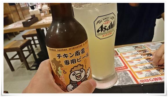 チキン南蛮専用ビールで乾杯@うめっちゃが食堂