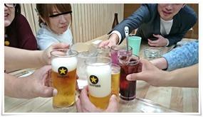 乾杯@鉄板焼鶏いしちゃん