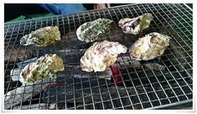 牡蠣焼きスタート@満福(まんぷく)