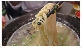 中太麺@麺バル クオーゼ