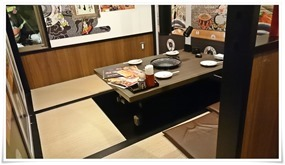 座敷テーブル席@赤から 戸畑鞘ヶ谷店