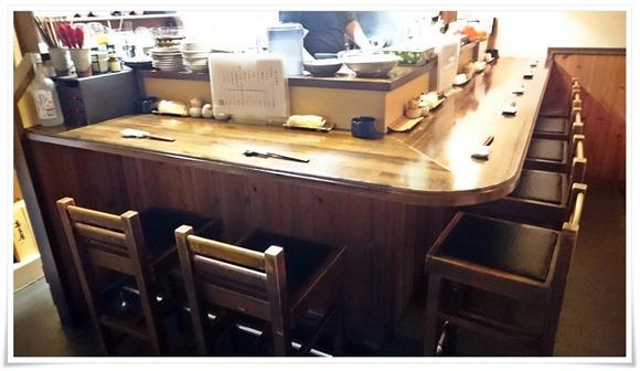 テーブル席@遊酒食堂 宇都宮