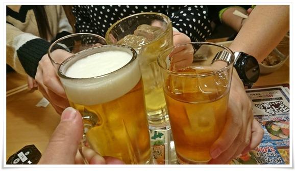 乾杯@屋台ずし八幡駅前町