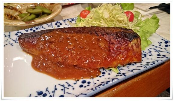サバの味噌煮@酒処 こふじ