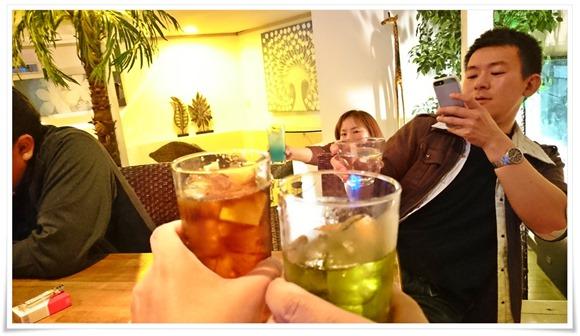 ケンシロウさまと乾杯@Cafe&BAR HOBBIT