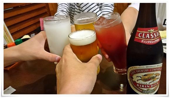 乾杯@焼とり 源や(もとや)