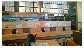カウンター席@鶏麺茶屋
