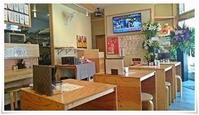 テーブル席@鶏麺茶屋