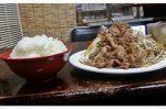 デカ盛り認定!末広食堂@八幡東区宮田町(枝光駅近く)「豚しょうが焼」凄いボリュームでした!