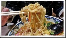 担々麺の麺@中華そば藤王