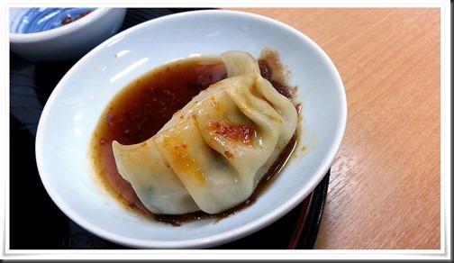 具沢山餃子@焼麺屋 虎之介