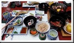 今回の料理の数々@料亭 金鍋
